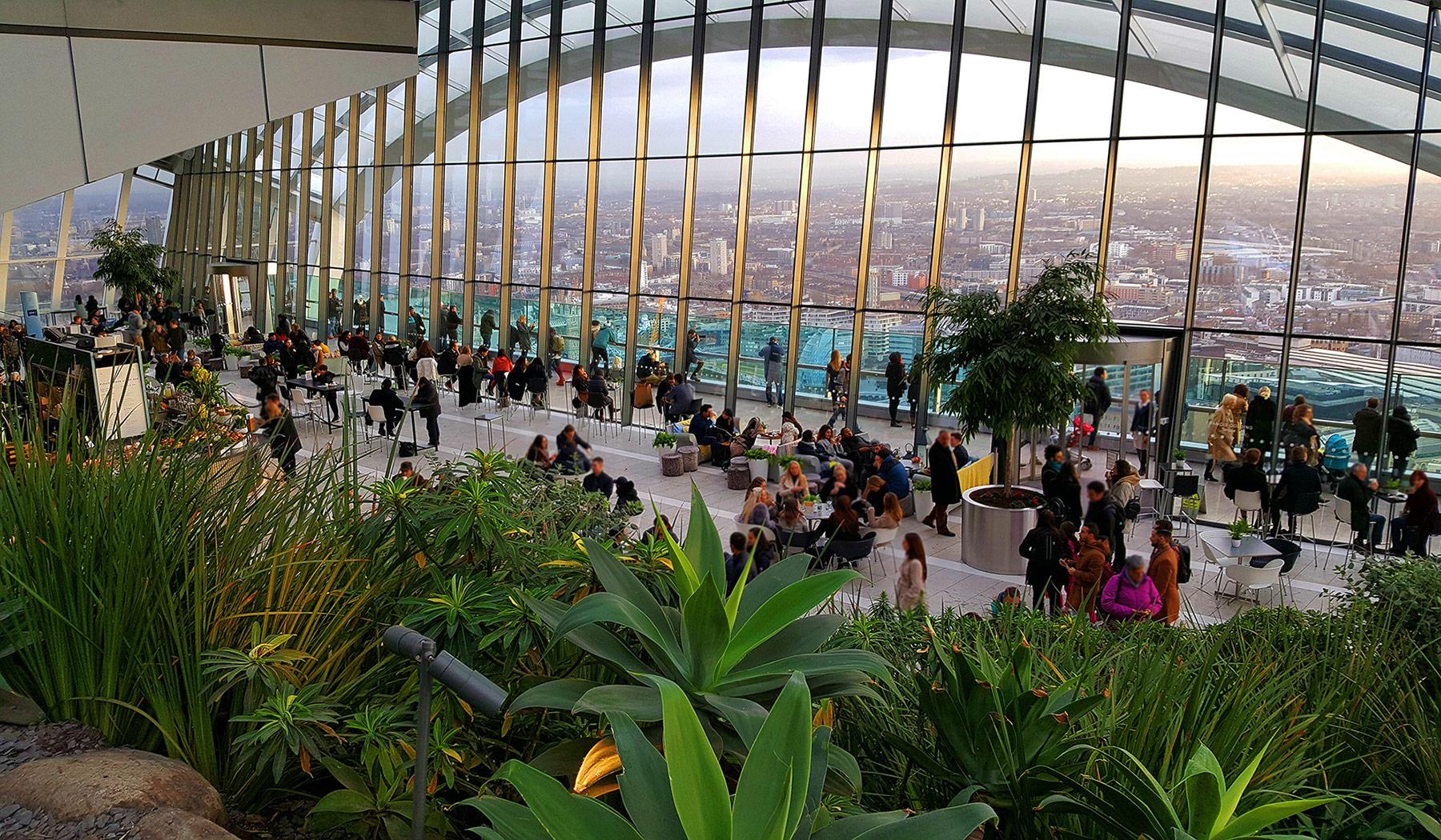 Sky Garden London Sky Pod Bar