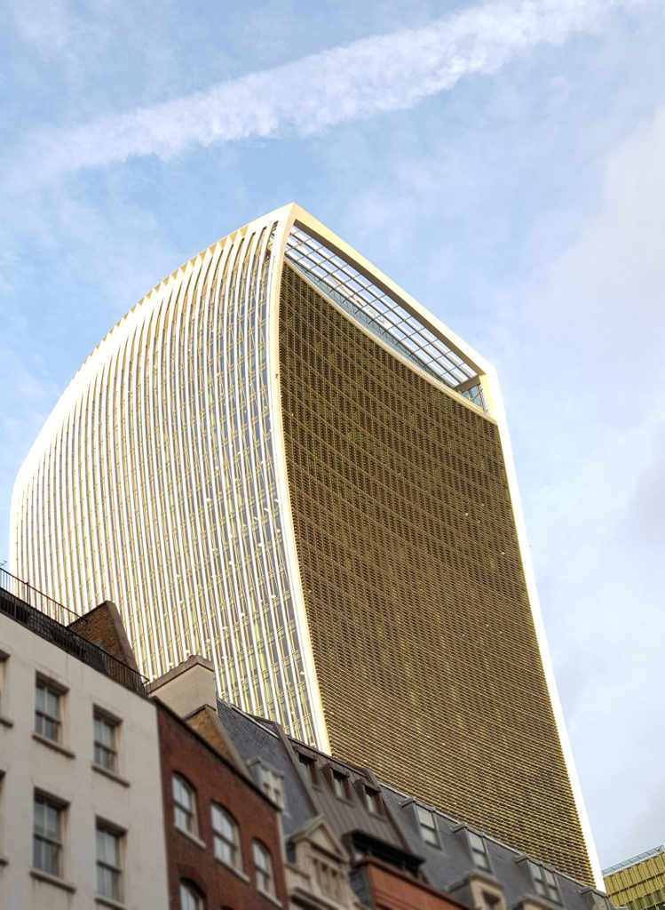 London's Walkie Talkie Building Home to Sky Garden