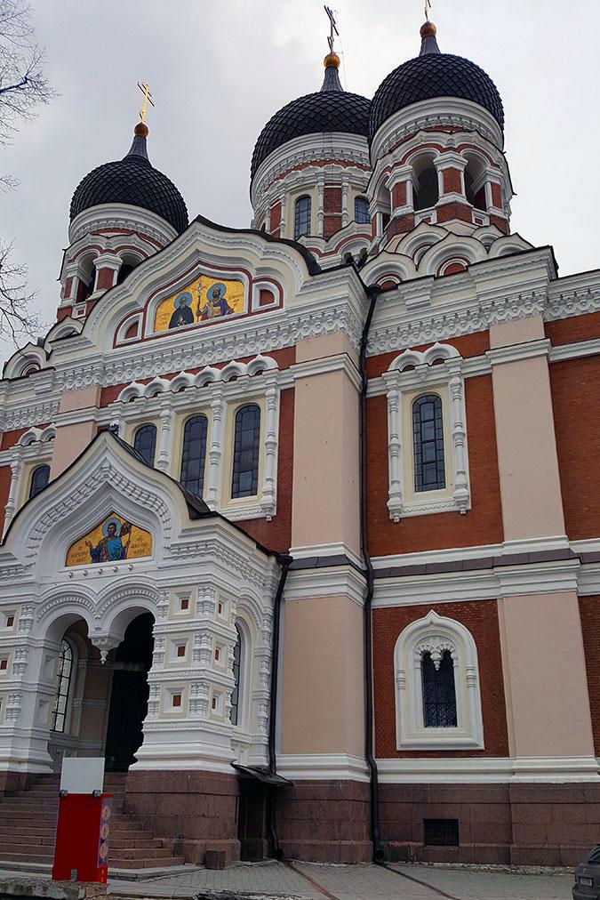 St Alexander Nevsky Cathedral Tallinn