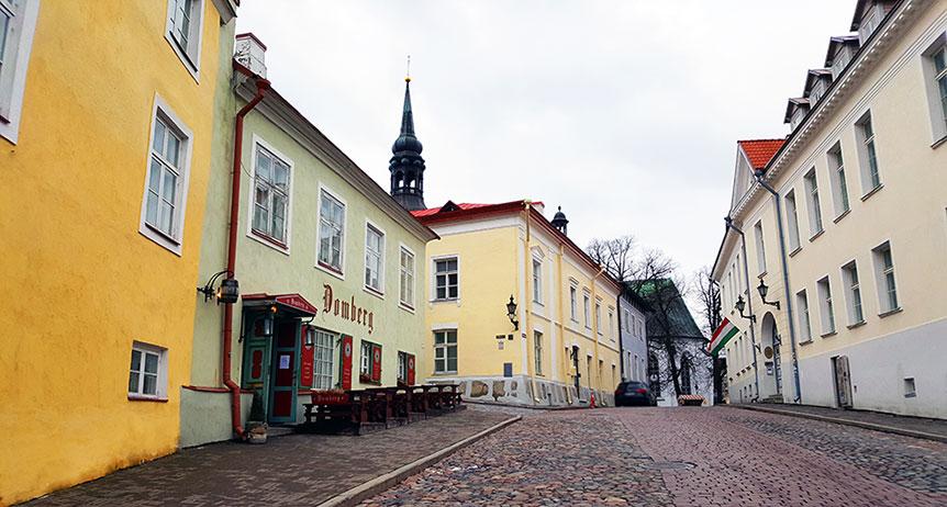 Tallinn Old Town Street
