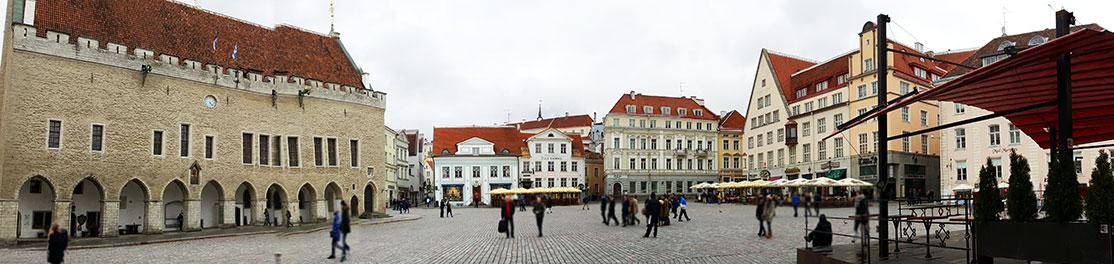 Tallinn Old Town Hall Square