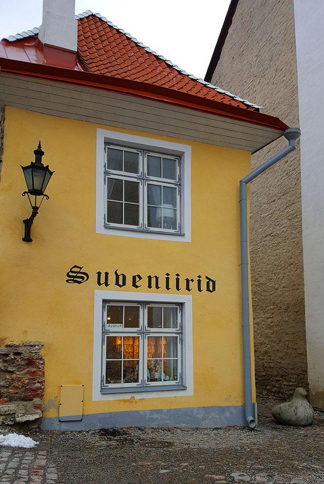 Tallinn souvenir shop